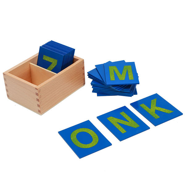 Sandpaper Capital Case Letters set