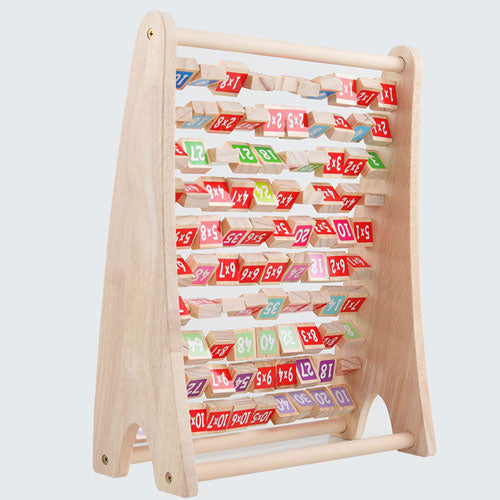 Wooden Multiplication Tables Stand