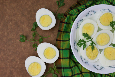 Cooked Eggs For Protein