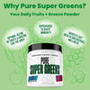 Best Greens Powder Supplement 2021 - Made With Fruits and Greens