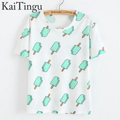 KaiTingu Printed Tees