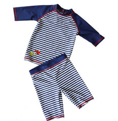 High quality Navy style Child spa male kids boys swim trunks swimwear swimsuit bathing suits surfing suit anti-uv  2 - 12 years