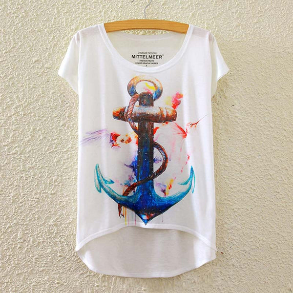 Anchor short sleeve t-shirt