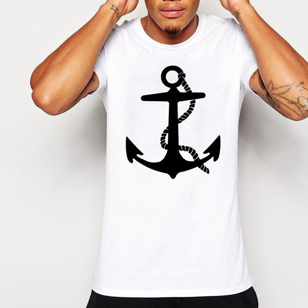 Mens anchor t-shirt