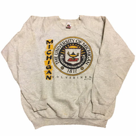 Vintage Michigan Crewneck (XL)