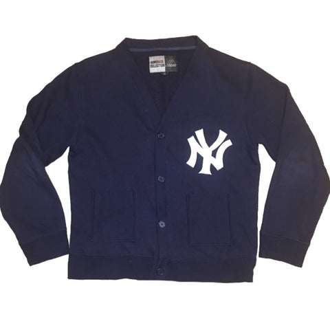 NY Yankees Majestic Cardigan (L)