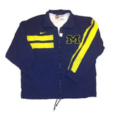 University of Michigan NIKE Windbreaker