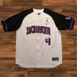 Vintage Chris Webber Nike Shooting Shirt