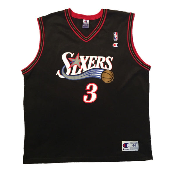 Sixers Iverson Champion Jersey (L)