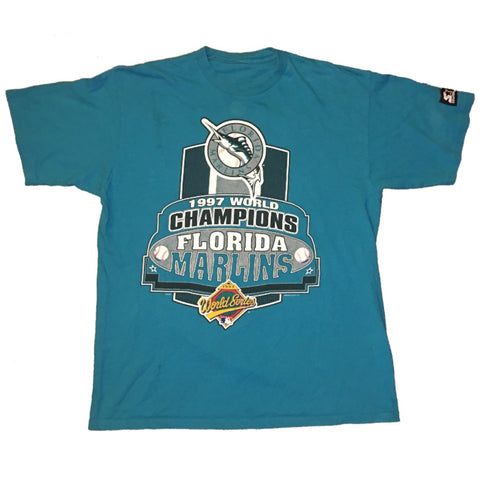 1997 Marlins World Series Champs Tee (L)