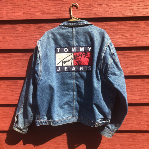 Vtg. Tommy Jeans Denim Jacket