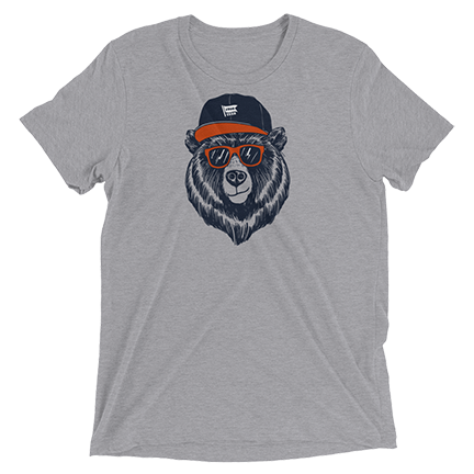 Bear Head - Hat - Chicago Bears
