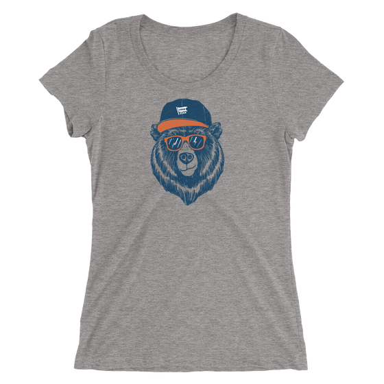 Bear Head - Chicago Bears - Womens