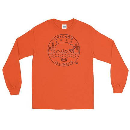 Chicago Seal - Chicago Bear - Long Sleeve