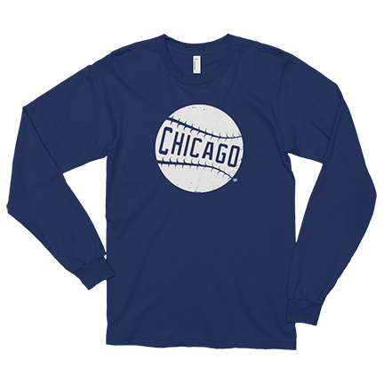 Baseball - Chicago Cubs - Long Sleeve