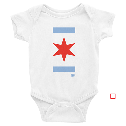 Chicago Star - World Series - Chicago Cubs - Baby
