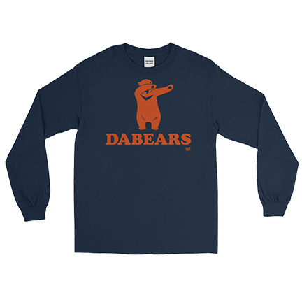 DABEARS - Da Bears - Chicago Bears - Long Sleeve