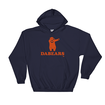 DABEARS - Da Bears - Chicago Bears - Hooded Sweatshirt