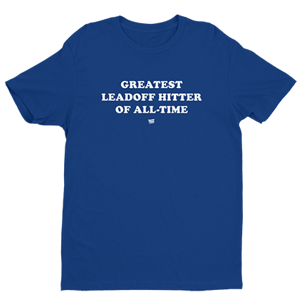 Greatest Leadoff Hitter of All-Time - Anthony Rizzo