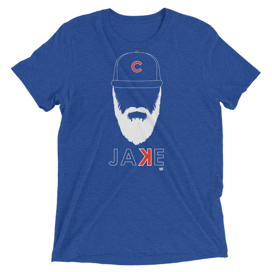 Jake Arrieta Beard - Chicago Cubs