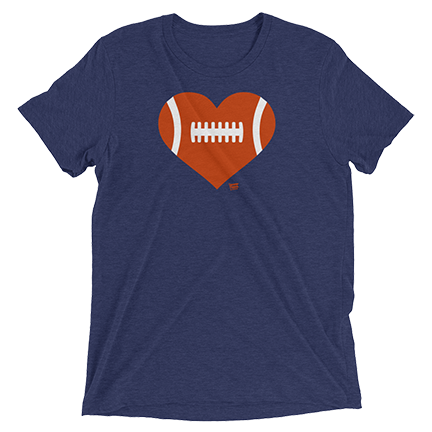 Love Football - Heart - Chicago Bears