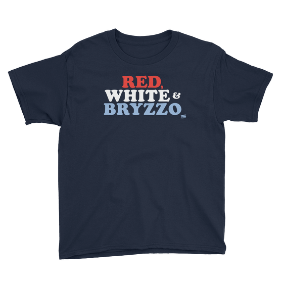 Red White and Bryzzo - Kris Bryant - Anthony Rizzo - Chicago Cubs - Kids