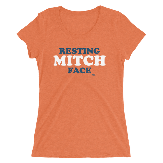 Resting Mitch Face - Mitch Trubisky - Chicago Bears - Womens