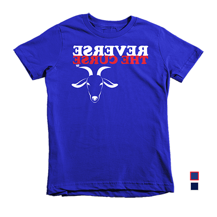 Reverse The Curse - Chicago Cubs - Kids