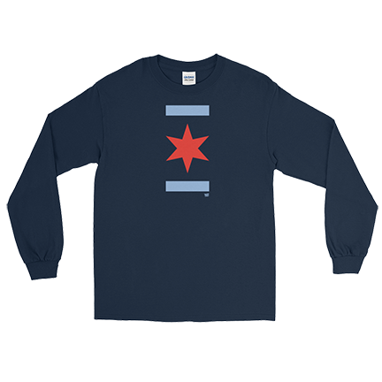 Chicago Star - Cubs World Series - Long Sleeve