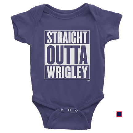 Baby - Straight Outta Wrigley - Chicago Cubs