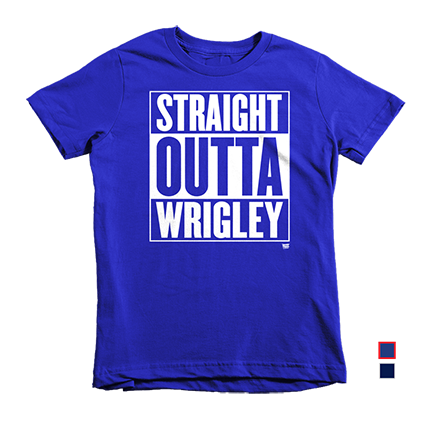 Straight Outta Wrigley - Chicago Cubs - Kids