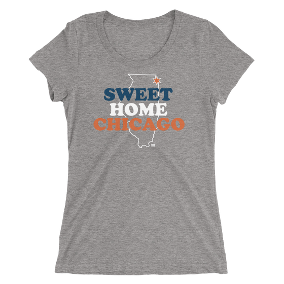 Sweet Home Chicago - Chicago Bears - Womens