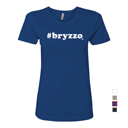 BRYZZO - Kris Bryant - Anthony Rizzo - Chicago Cubs - Womens