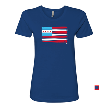 Womens - Chicago Baseball Flag