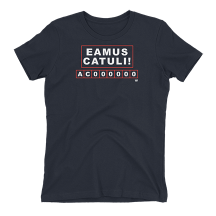 EAMUS CATULI - IN THE YEAR OF THE CUB - Chicago Cubs - Womens