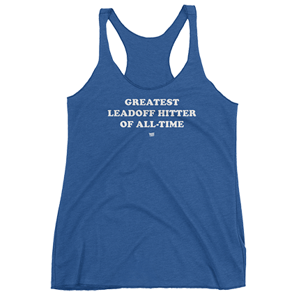 Greatest Leadoff Hitter of All-Time - Anthony Rizzo - Chicago Cubs - Womens - Tank