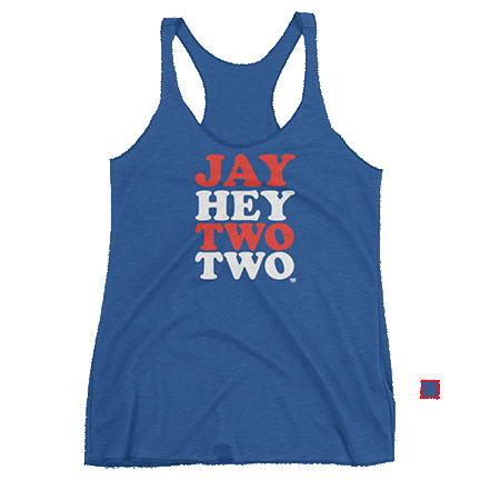 Womens - Jay Hey Two Two - Jason Hayward - Chicago Cubs - Tank