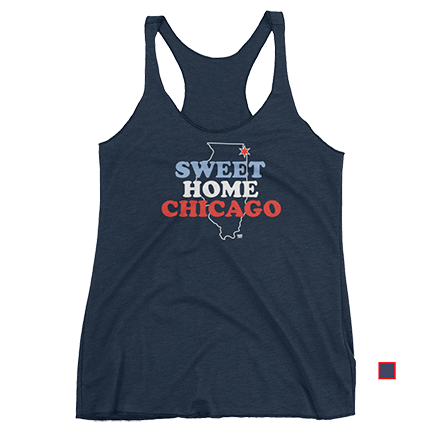 Sweet Home Chicago - Chicago Cubs - Womens - Tank
