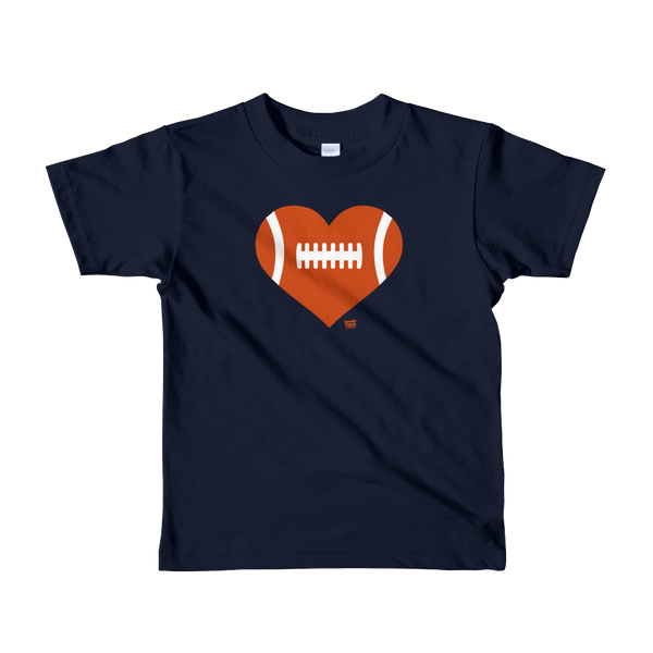 Love Football - Heart - Chicago Bears - Kids