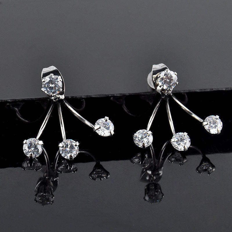 Crystal Eyelash Ear Crawlers