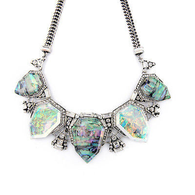 Glacier Statement Necklace