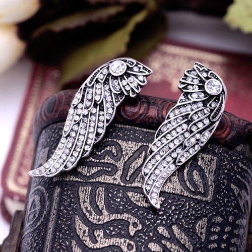 Born to Fly Vintage Style Earrings - BellaBijoux