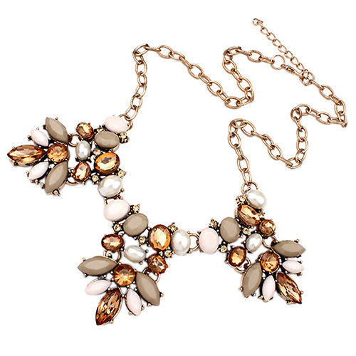 """Toast"" Retro Statement Necklace"