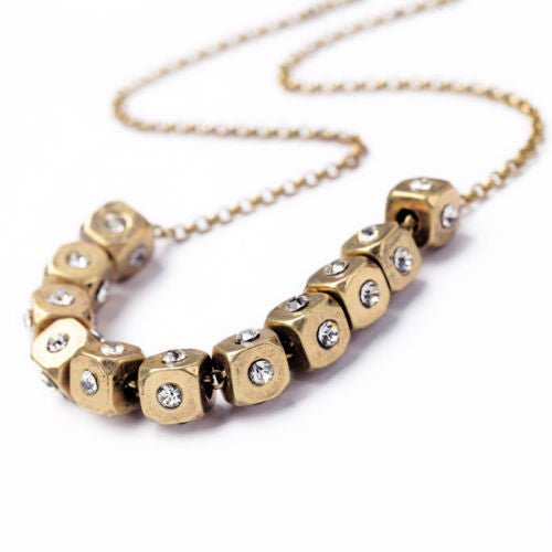 Roll the Dice Collar  Necklace