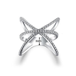 Sterling Silver Chic Bijoux Ring