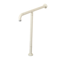 T Shaped Grab Bar With Floor Support