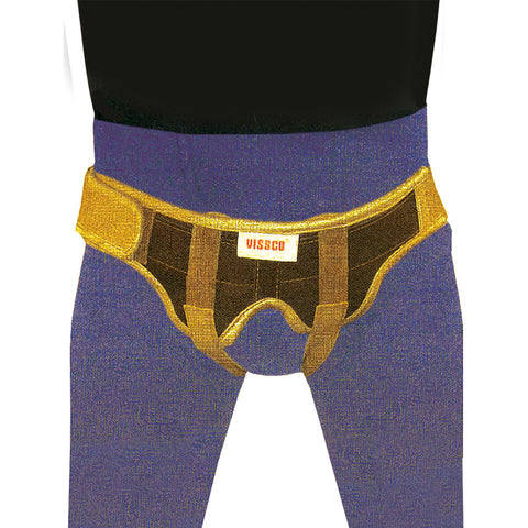 New Male Ingunial Hernia Belt-Double Pad