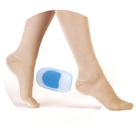Silicone Heel Pad With Blue Dot