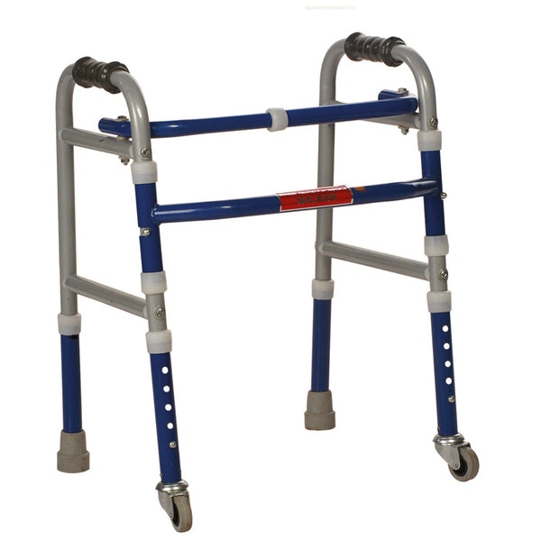 Foldable Adjustable Walker Castors
