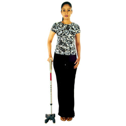 Quadripod  Walking Stick  L  Shape Per Pc
